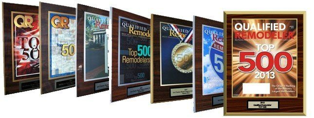 top 500 remodeling award