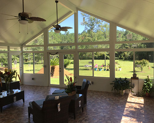 Cathedral Sunroom in Fairhope, Al