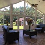 Sunroom addition in Fairhope al