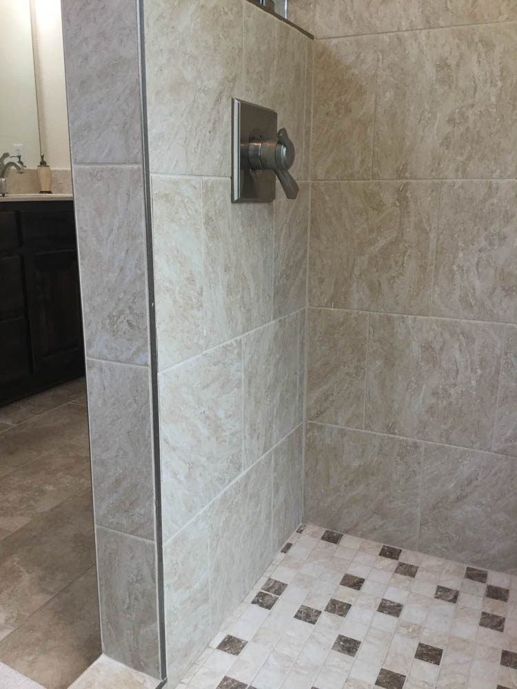 Cantonment Master Bath Remodel Cantonment Bathroom