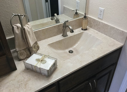 Cantoment bath remodel