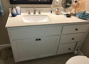 Tiny Condo Bathroom Remodel near Perdido Key