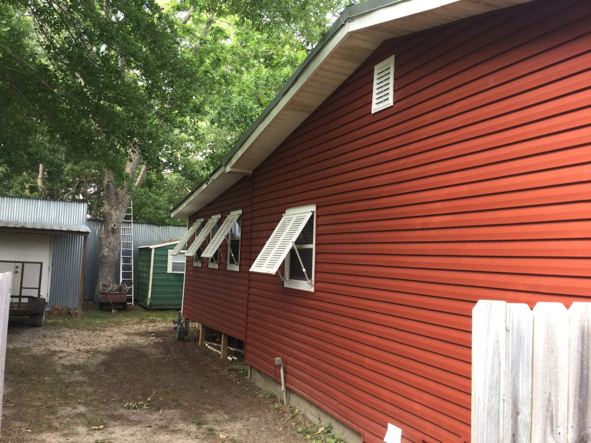 Vinyl Siding Shutter Project In Elberta Al Vinyl Siding