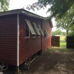 vinyl siding and shutter project in elberta, al