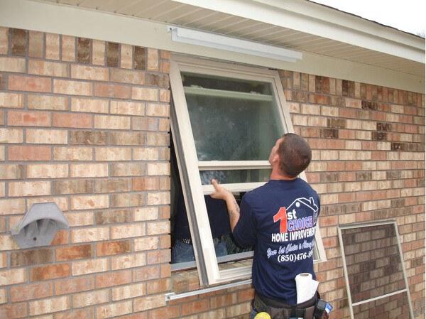 Replacing Windows In Brick House